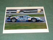 "MERCEDES-BENZ CLK-GTR Gounon/Tiemann 10x8"" photo Oschersleben FIA GT 1998"